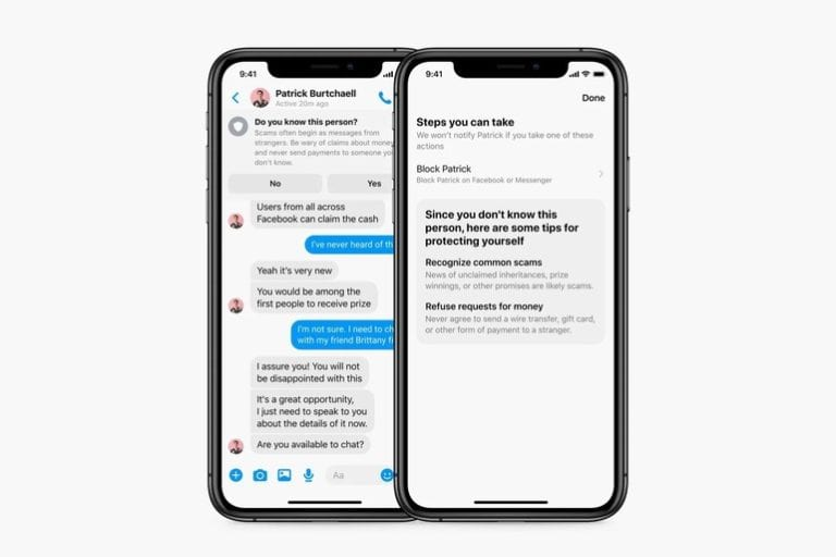 Facebook Messenger își va avertiza utilizatorii în legătură cu tentativele de înșelătorie și alte mesaje cu potențial periculos