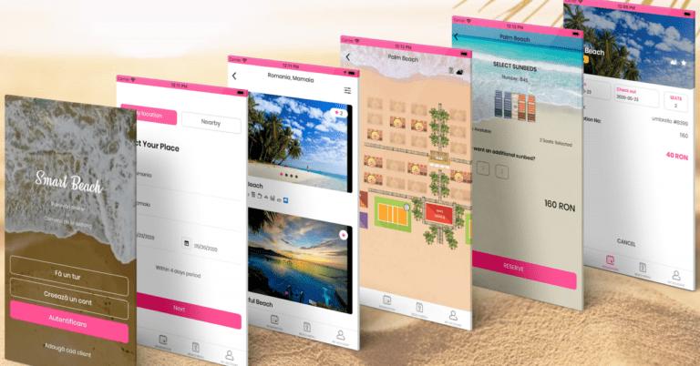 Românii care digitalizează plaja: Smart Beach te ajută să închiriezi șezlong și să comanzi de la bar