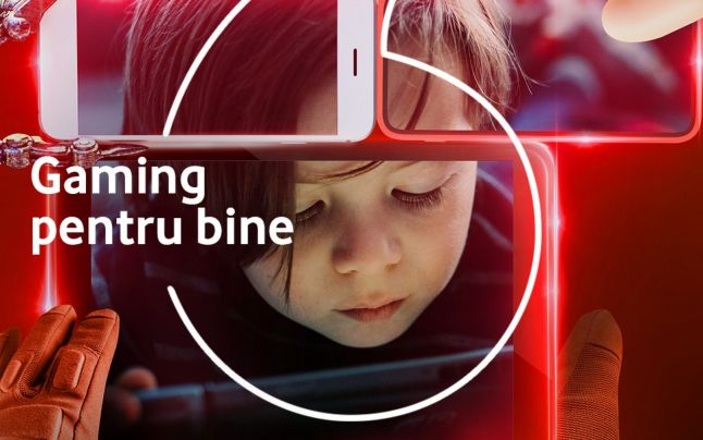 La Gaming Marathon, Vodafone va colabora alături de gameri pentru a trimite cât mai mulţi copii la şcoală