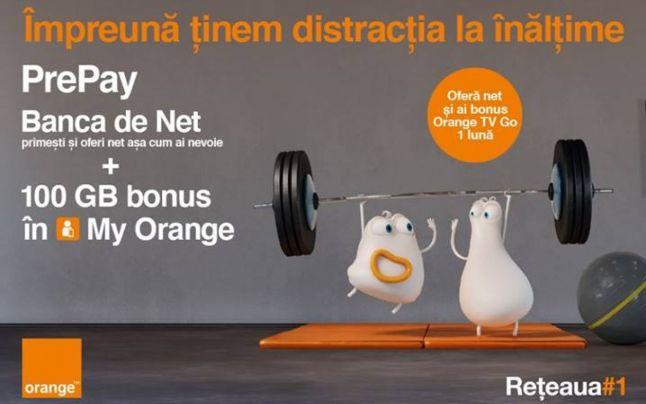 Orange lansează Banca de Net, un program unde poţi să faci schimb de internet mobil