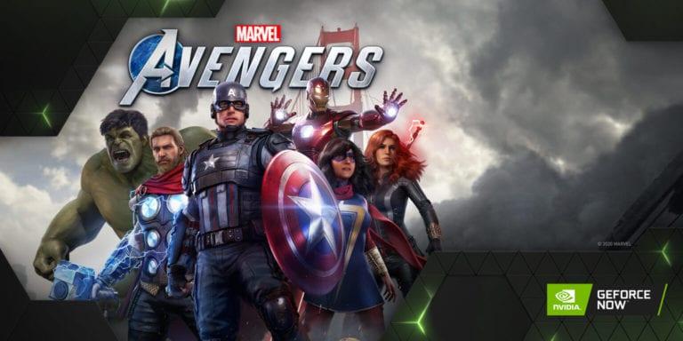 Marvel's Avengers vine acum si pe GeForce Now