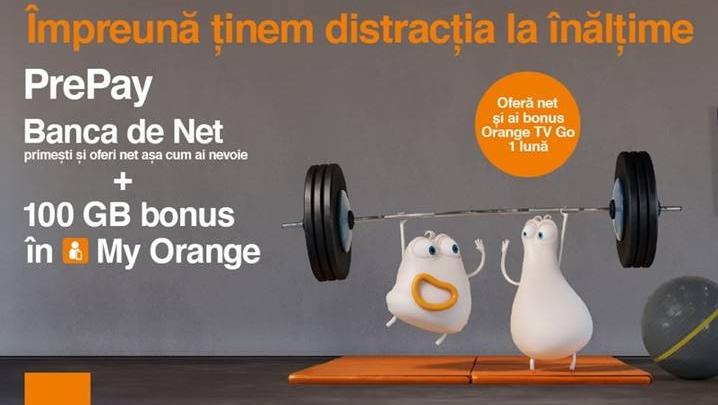 Orange lansează Banca de Net, un loc virtual în care clienţii pot să primească şi să ofere net în funcţie de cum au nevoie