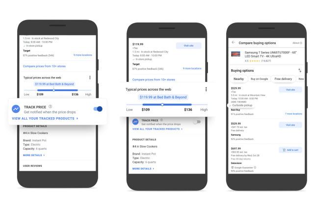 Google lansează un comparator de prețuri