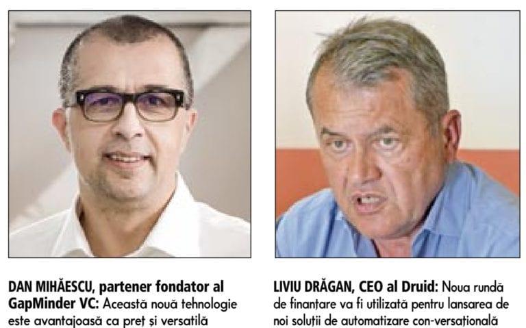 Start-up-ul local Druid a luat încă 2,5 mil. dolari de la fondurile de investiţii, după o creştere cu 580% a veniturilor recurente în 2020. Compania fondată de antreprenorul Liviu Drăgan a aplicat în 2020 şi la programul IMM Invest, prin care companiile pot obţine credite garantate de stat