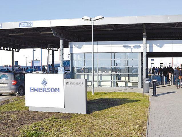 Americanii de la Emerson au investit 5,5 mil. dolari în echipamente de producţie şi IT