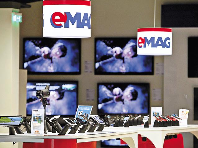 Dante Internaţional, compania din spatele gigantului eMAG, a făcut un profit net de 107 mil. lei în 2020, dublu faţă de anul anterior