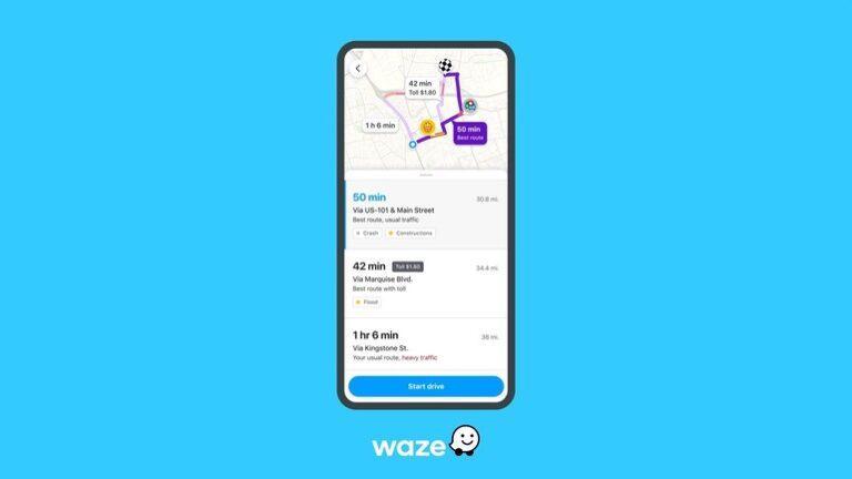 Waze va oferi mai multe informații despre obstacolele de pe trasee