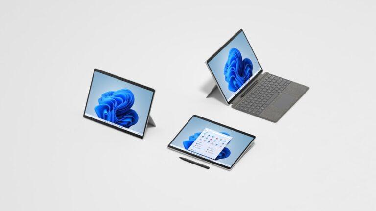 Microsoft a prezentat Surface Pro 8