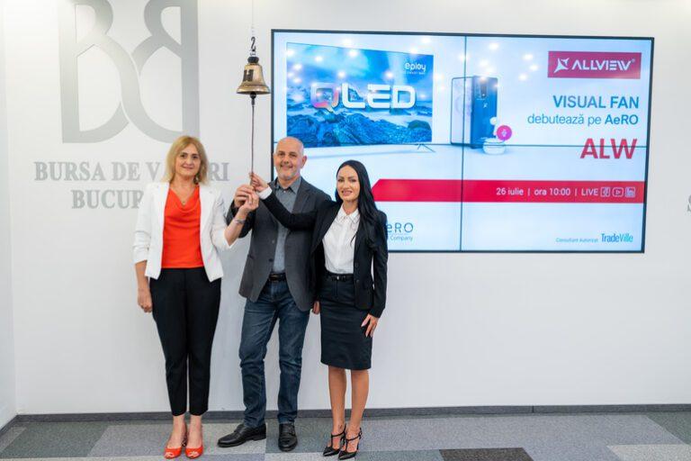 Acționarii Visual Fan, care deține brandul Allview, au aprobat majorarea de capital social cu 5 acțiuni gratuite la fiecare acțiune deținută